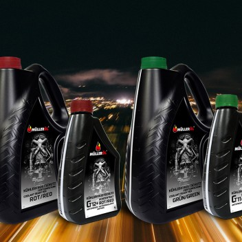MÜLLERÖL antifreeze concentrate in a new package!